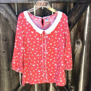 Minnie Mouse ladies blouse